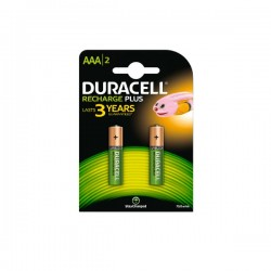 DURACELL Plus AAA 750 2τεμ Επαναφορτιζόμενη Μπαταρία